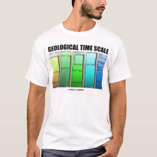 Geologische Zeit-Skala (geologisches Alter) T-Shirt