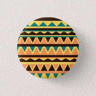 Geometric Runder Button 2,5 Cm