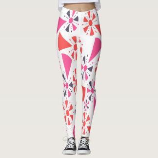 geometrische Popsicles Leggings