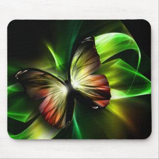 Geometrische Schmetterlings-Mausunterlage Mousepad