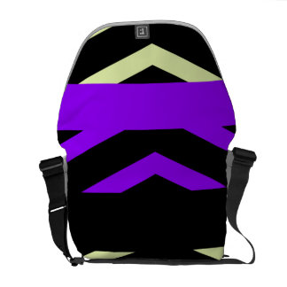 Geometrische Streifen Kurier Taschen