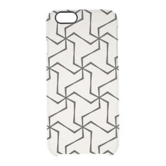 Geometrischer Art Iphone Fall Durchsichtige iPhone 6/6S Hülle