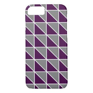 Geometrischer Dreieck-Telefon-Kasten iPhone 7 Hülle