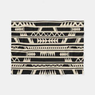 Geometrischer Entwurfs-ethnischer Stammes- Druck Fleecedecke