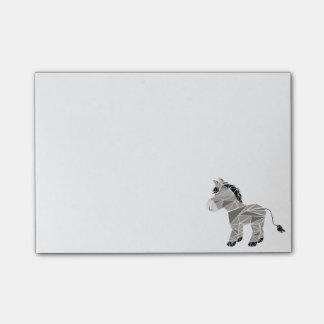 Geometrischer Esel Post-it Klebezettel