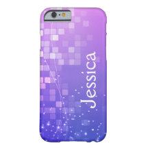 Geometrischer magischer lila iPhone 6 Kasten