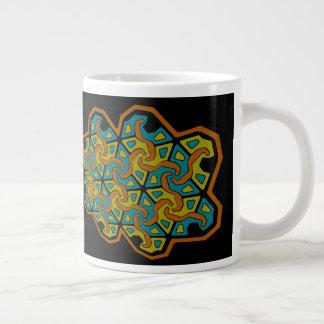 Geometrischer Tri Pfeil Entwurf Jumbo-Tasse