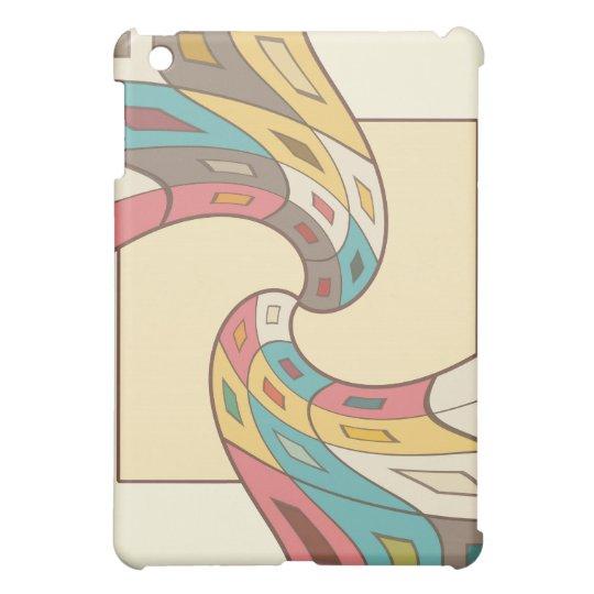 Geometrisches abstraktes iPad mini cover
