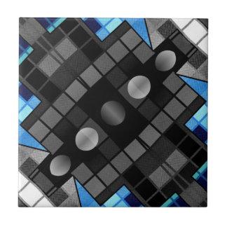 Geometrisches abstraktes Muster Fliesen