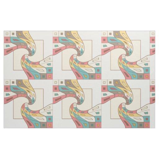 Geometrisches abstraktes stoff