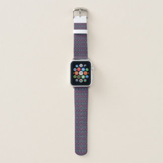 Geometrisches Muster Apple Watch Armband