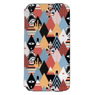 Geometrisches Muster des modernen mystischen Incipio Watson™ iPhone 6 Geldbörsen Hülle