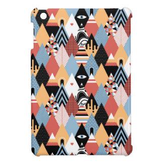 Geometrisches Muster des modernen mystischen iPad Mini Hülle