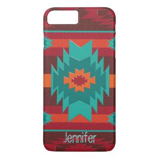 Geometrisches Muster des südwestlichen Navajos iPhone 8 Plus/7 Plus Hülle
