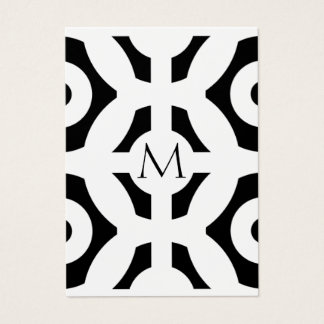 Geometrisches Muster Visitenkarte