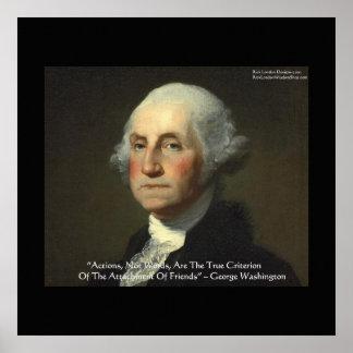 """George Washington """"Aktionen nicht fasst"""" Plakate a"""