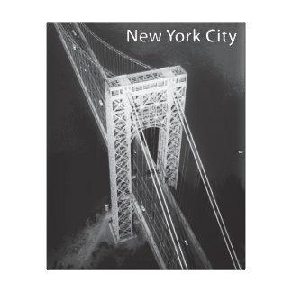 George Washington-Brücke New York City Leinwanddruck