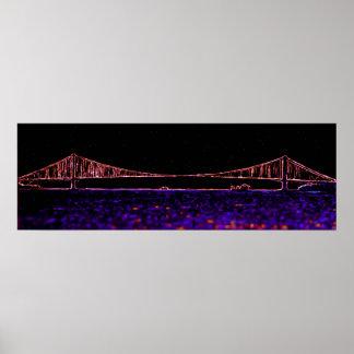 George Washington-Brücke, New York (kein Text) Poster