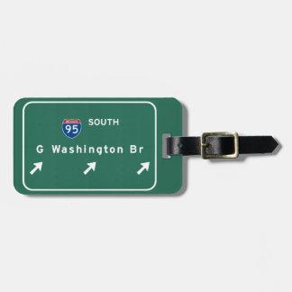 George Washington-Brücke NYC New York City NY Kofferanhänger