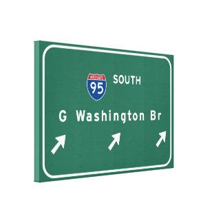 George Washington-Brücke NYC New York City NY Leinwanddruck