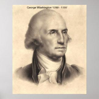 George Washington-Druck Poster