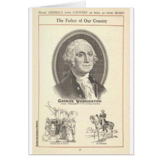 George Washington Karte