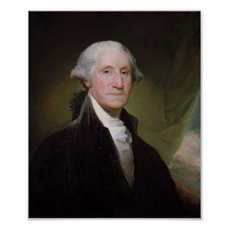 George Washington-Malen - Gilbert Stuart Poster