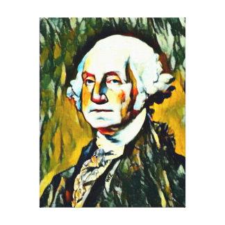 George Washington-Öl-Porträt Leinwanddruck