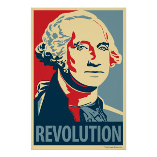 George Washington - Revolution: OHP Plakat