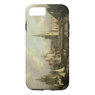Georges Dock-Becken, Liverpool, 1797 (Öl auf canva iPhone 8/7 Hülle