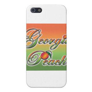 Georgia-Pfirsich - Cursive iPhone 5 Etui