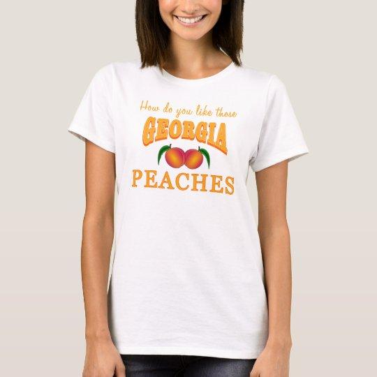 Georgia-Pfirsiche T-Shirt
