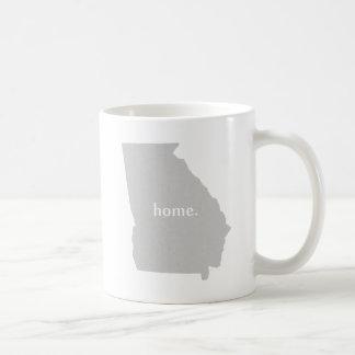 Georgia-Zuhause-Silhouette-Staatskarte Kaffeetasse