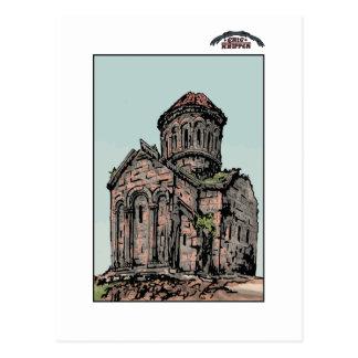 Georgische Kirche Postkarte