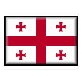Georgische Republik-Flagge Postkarten