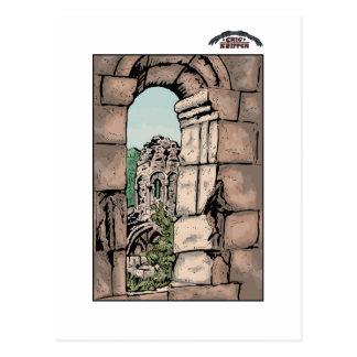 Georgisches Kloster Postkarte