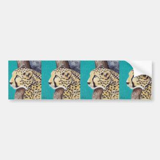 Gepard Autoaufkleber