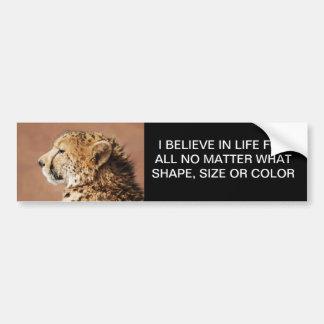 Gepard-Prinz Autoaufkleber