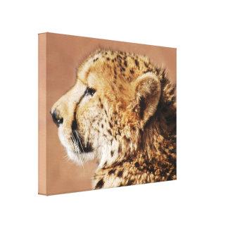 Gepard-Prinz Leinwanddruck
