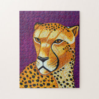 Gepard-Puzzlespiel