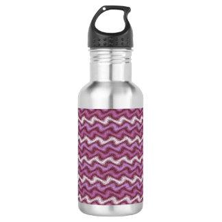 Geplätschertes Lila Trinkflasche