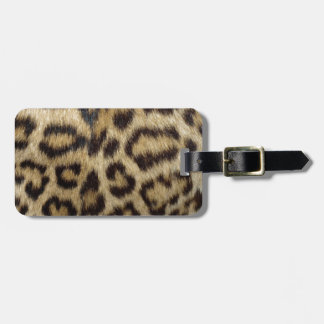 Gepunktete Leopard-Haut Kofferanhänger
