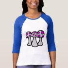 Gepunkteter Pilz-T - Shirt