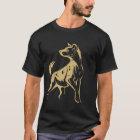 Gepunktetes Hyänenkleid T-Shirt
