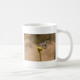 Gerade als der Raupen-Gedanke Kaffeetasse