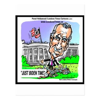 Gerade Biden Zeit-lustige politische T-Shirts-Tass Postkarten