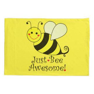 Gerade Bienen-fantastische gelbe Hummel-Biene Kissenbezug