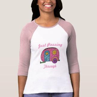 Gerade durch überschreiten T-Shirt