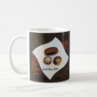 Gerade ein Biss - i-Liebe-Schokolade Tasse