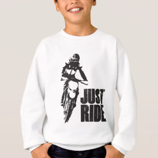Gerade Fahrmotorrad Sweatshirt